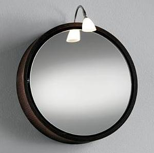 Charmant OML 1400L Round Mirror Cabinet