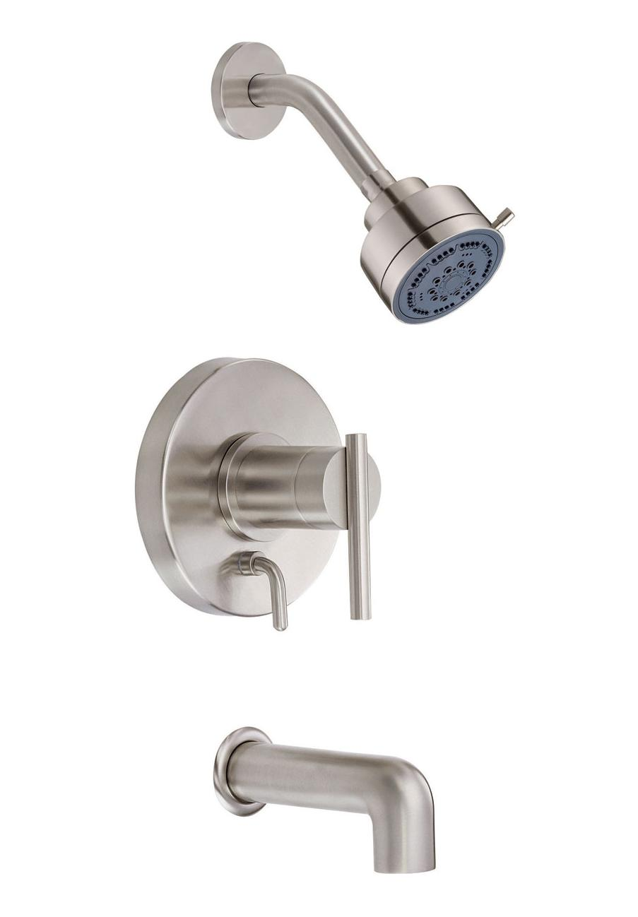 Danze Parma D500058 Single Handle Tub & Shower Faucet with 3'' Three Function Showerhead