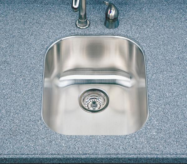 Houzer Club CS-1607 Bar / Prep Undermount SS Sink