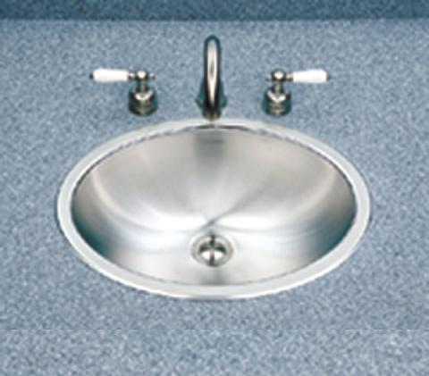 Houzer Club CHT-1800 Lavatory Topmount Oval Stainless Steel Bowl