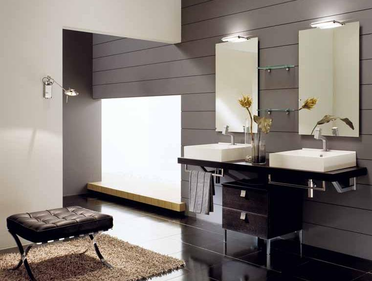 BMT Sky - 1 Double Sink Bathroom Vanity from Italy 71