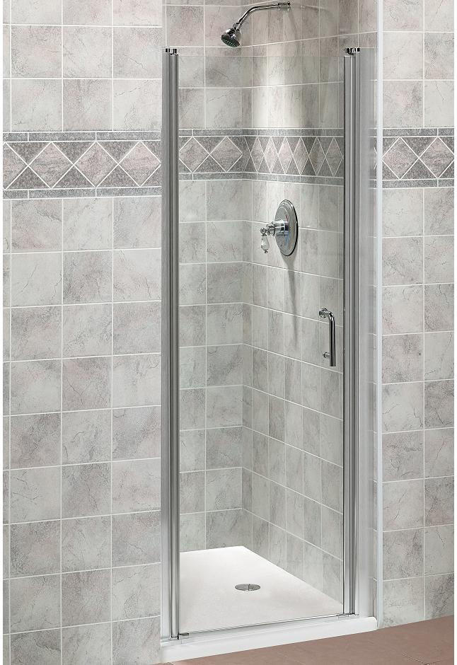 Fleurco Sevilla Semi-frameless Glass Shower Door