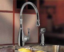 Graff Duxbury G-4805 Kitchen Faucet with side spray