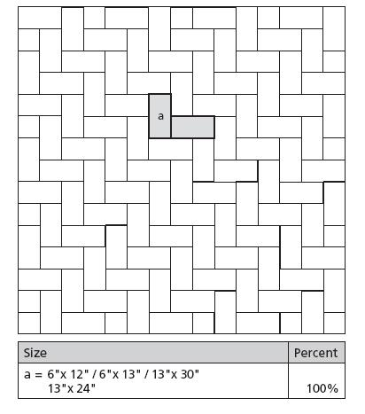 Tile Layout Design Pattern 5