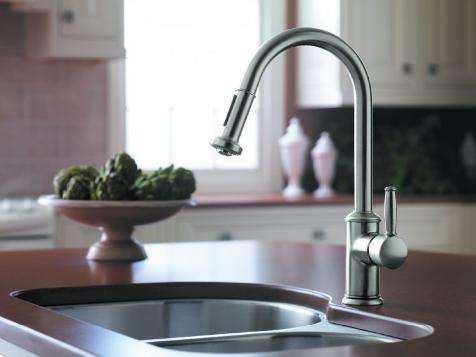 Hansgrohe 06128000 Swing Kitchen Faucet - Lever Handle