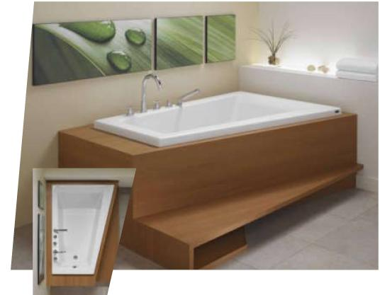 Neptune Bora Bath Tub or Whirlpool