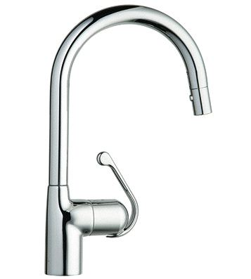Grohe Ladylux Pro 32244000 Main Sink Dual Spray Pull-out Faucet