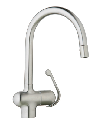 Grohe Ladylux Pro 32245SDO Main Sink Dual Spray Pull-out Faucet