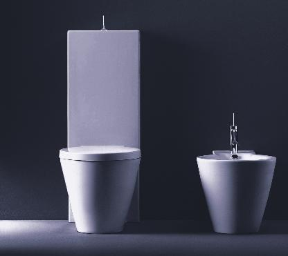 Duravit Starck 1 D16022 Close-Coupled Two-Piece Toilet by Philippe Stark