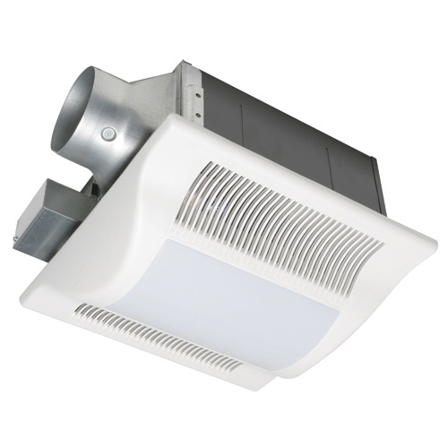 Panasonic FV-08VFL3 WhisperFit-Lite 80 CFM Low Profile Bathroom Ceiling Mounted Fan with Light