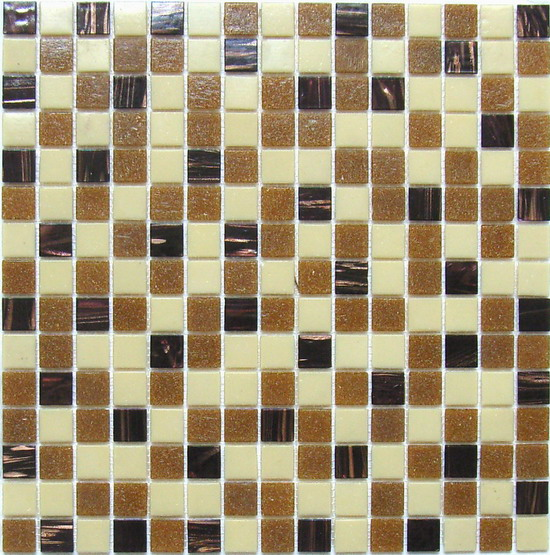 LADA Gold Line Blend Series GM14 Mosaic Tile