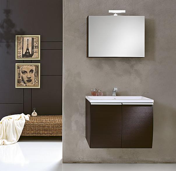 GB Way Collection 09 Wall Hung Bathroom Vanity Set 28