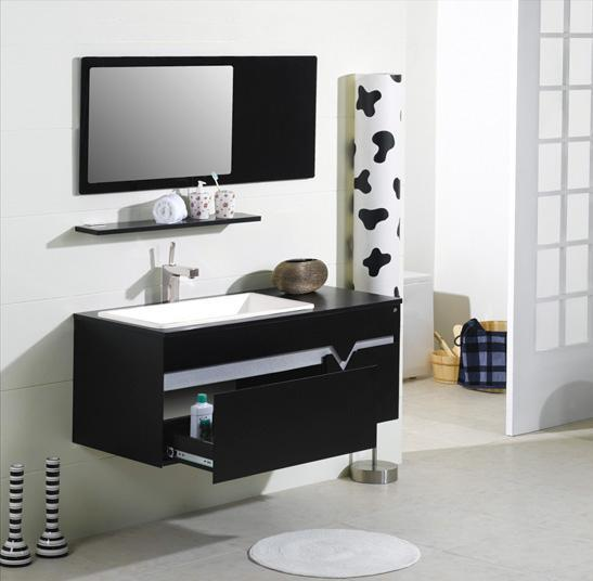 LADA Cubo Composition 3 Solid Wood Bathroom Vanity Set 40