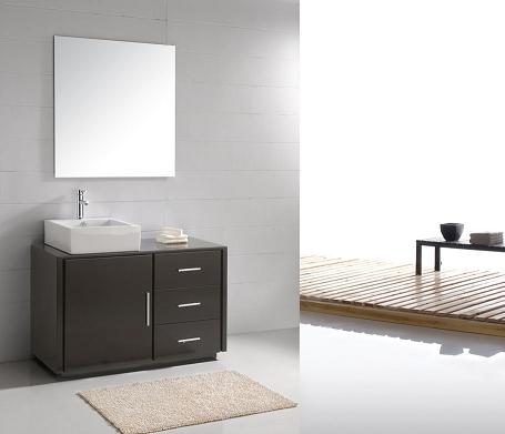 LADA Cubo 110 Solid Wood Bathroom Vanity Set 47