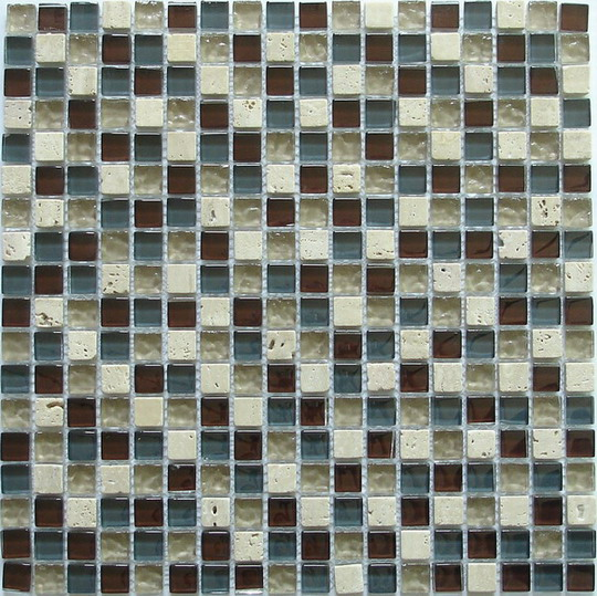 LADA GS03 Glass & Stone Mixed Series Mosaic Tile