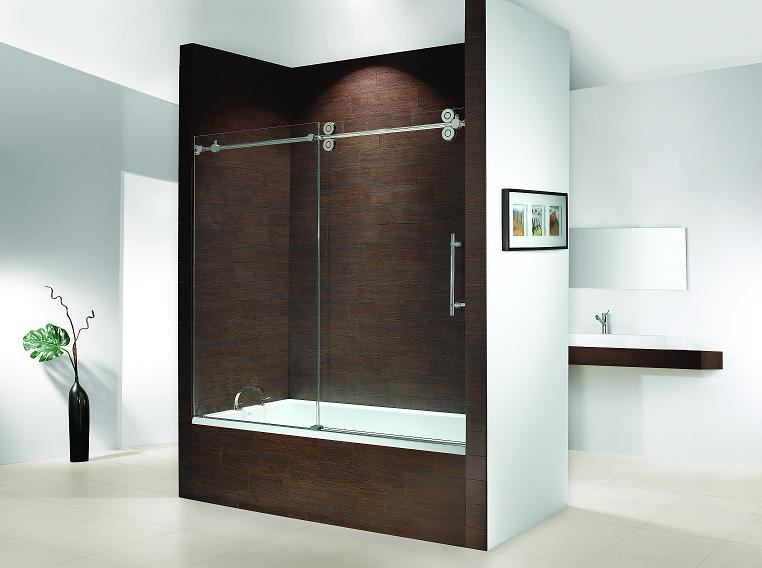 Fleurco KTW060 Kinetik Hardware Systems Sliding Glass Bath Tub Door