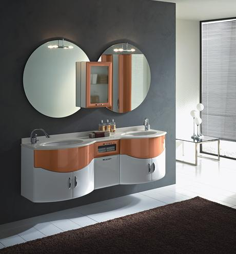 BMT Fantasy Evolution 111 Bathroom Double Sink Vanity Set 72