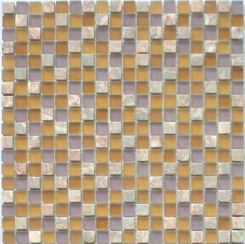 LADA GS34 Glass & Stone Mixed Series Mosaic Tile