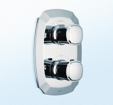 Toto TS970DC - Guinevere Thermostatic Mixing Valve Trim with Dual Volume Control