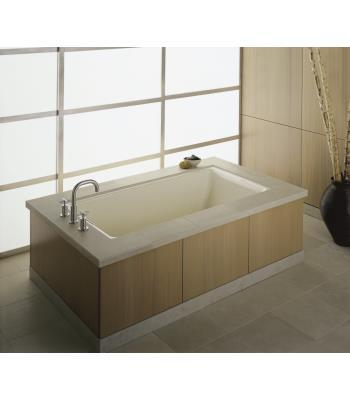 Kohler K-855 Tea-for-Two 5.5' Enameled Cast Iron Bath Tub