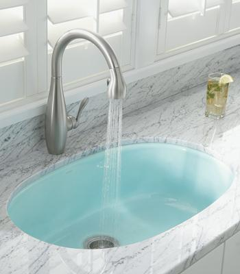 Kohler K-692 Clairette kitchen sink pull-down faucet
