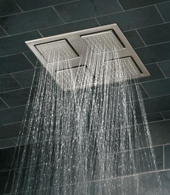Kohler K-8030 WaterTile Rain overhead showering panel / shower head