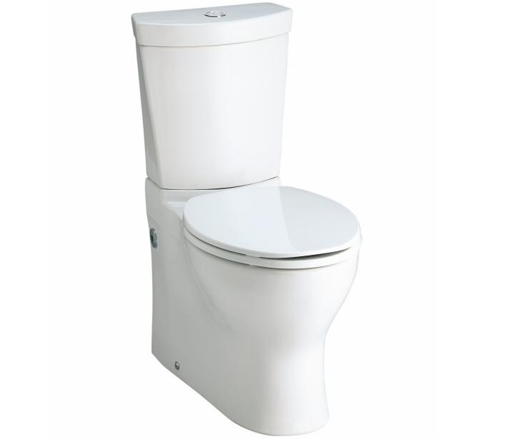 Kohler K-3654 Persuade two-piece elongated toilet with Dual Flush Technology, less seat