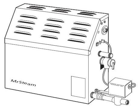 MrSteam MS Super 2E Residential Steam Generator