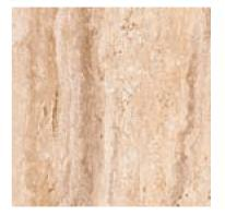 Ceramica Gomez Oneker Travertine Niza Brown 18x18 Porcelain Tile