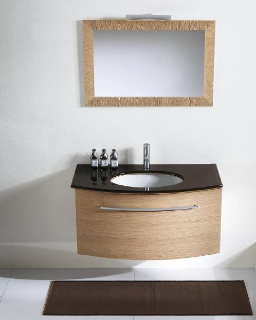 Nova BMT Paris 03 Bleached Oak Bathroom Vanity Set 40