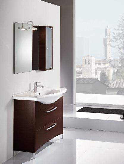 Nova BMT Firenze 14 Wenge Wood Bathroom Vanity Set 41