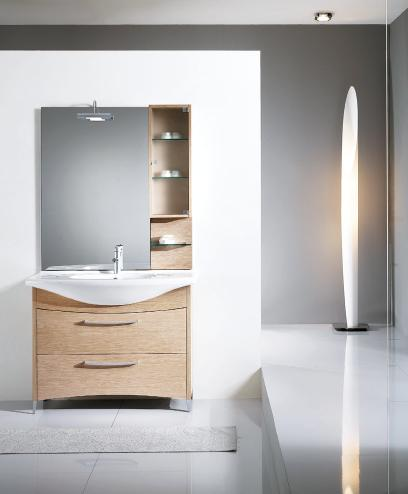 Nova BMT Firenze 16 Bleached Oak Bathroom Vanity Set 41