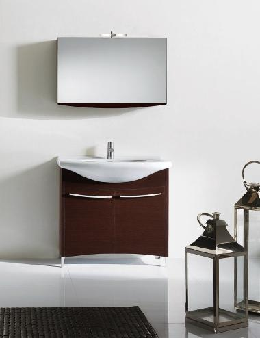 Nova BMT Firenze 17 Wenge Wood Bathroom Vanity Set 35-1/2