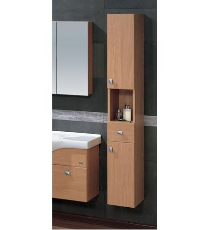 LADA Madrid 25 Wall Hung Bathroom Storage Linen Cabinet 10