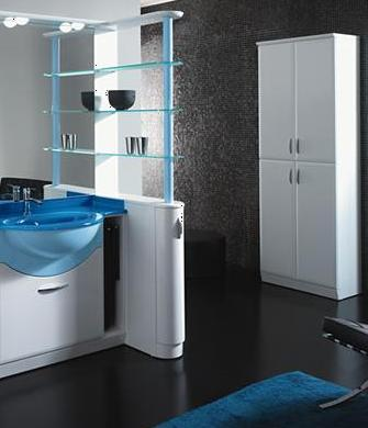 BMT Fantasy Evolution Collection 116.1 Bathroom Storage Linen Cabinet