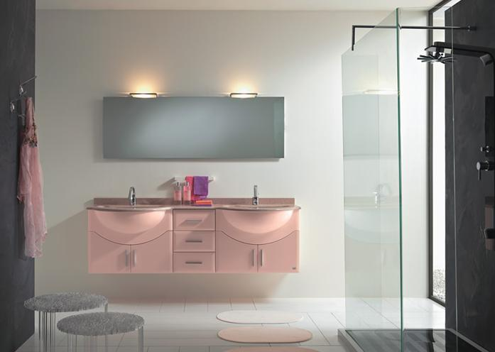 BMT Fantasy 19 Double Sink Bathroom Vanity 72