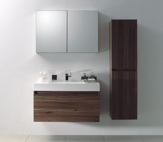 LADA Quadro A1000 Compact Wall Hung Bathroom Vanity 40