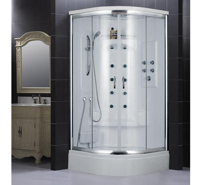 Dreamline Niagara Jetted Shower with optional Steam Kit