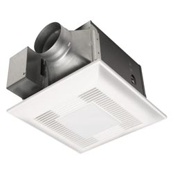 Panasonic FV-08VKSL3 WhisperGreen-Lite 80 CFM Premium Ceiling Mounted Continuous and Spot Ventilation Fan Combination with DC Motor and Light