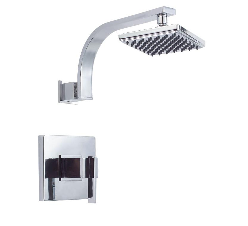 Danze Sirius D500544 Single Handle Shower Only Faucet with 6