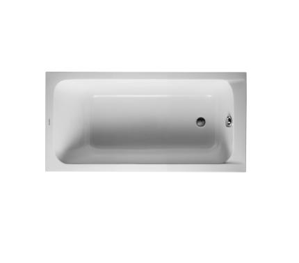 Duravit D-Code 700095 Acrylic Rectangular Bathtub by Sieger Design