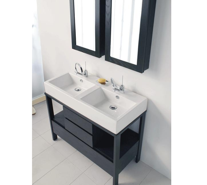 Lacava AQUAMEDIA Double Sink Bathroom Vanity