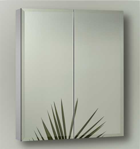 Sofia Artemis Collection ART2430S2D Double Door Surface Mount Mirror Cabinet