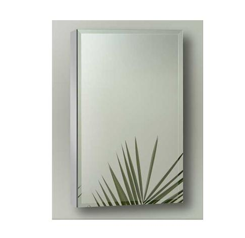 Sofia Artemis Collection ART1830S Single Door Surface Mount Mirror Cabinet