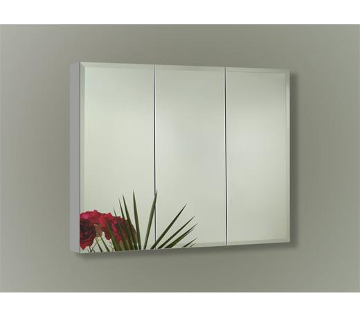 Sofia Toula Collection TOU3230S5 Three Door Surface Mount Mirror Cabinet