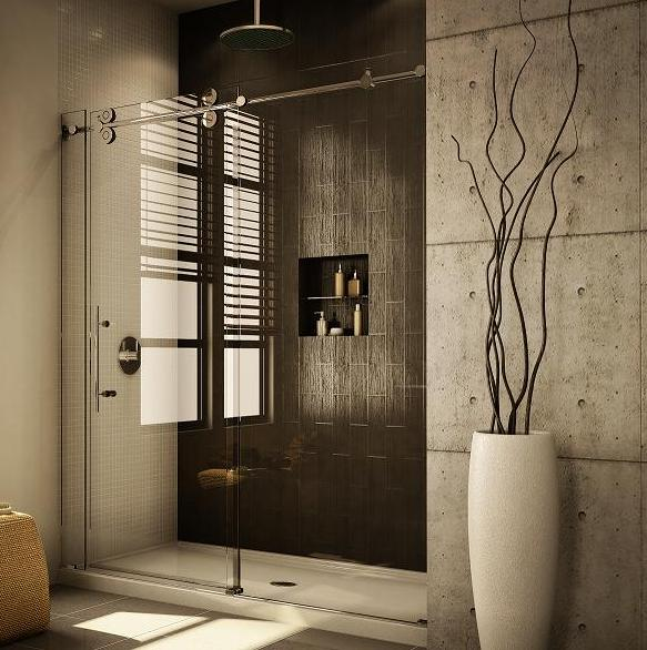 Fleurco KTW172 Symmetry Kinetik Hardware Systems Sliding Glass Shower Door