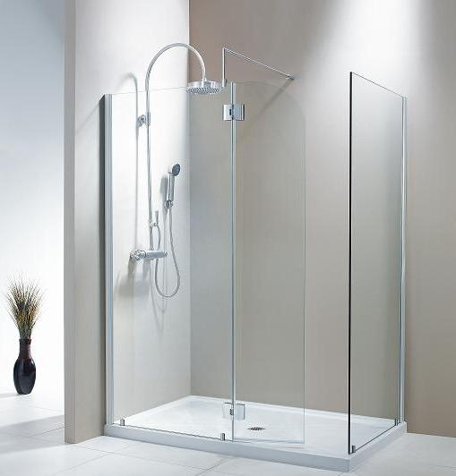 Fleurco V56303 Evolution Walk-in Shower System Frameless Door
