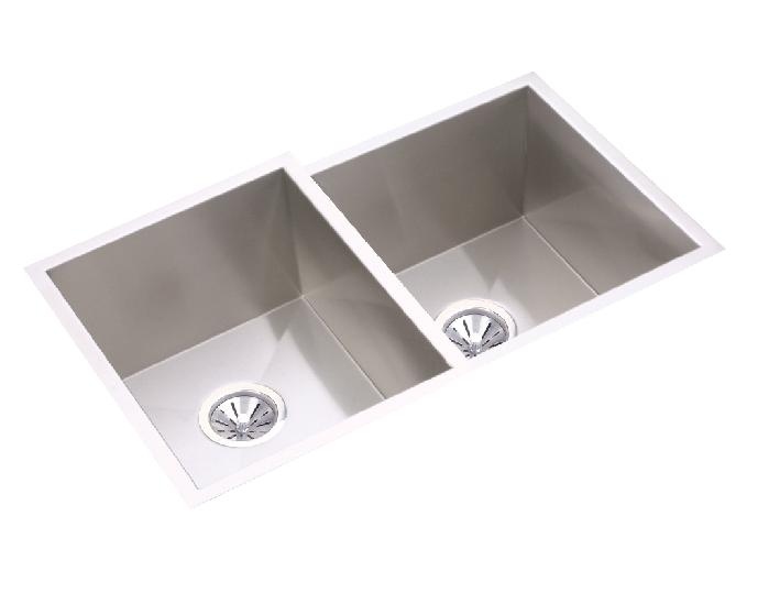 Elkay EFU312010R Avado Collection Undermount Double Bowl Sink