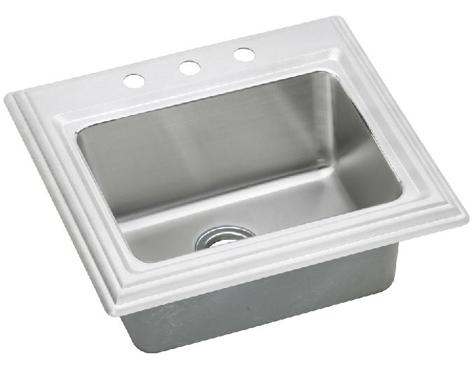 Elkay ECTC252210 Echo Single Bowl Top Mount Sink