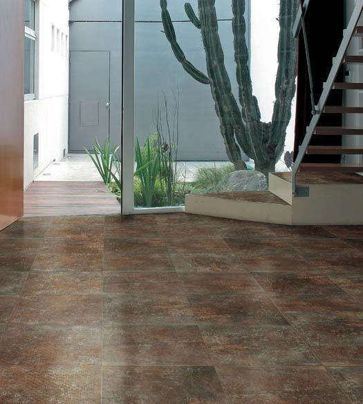 Gambarelli STARGATE Collection Porcelain 18x18 Metallic Floor Tile